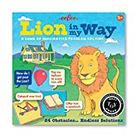 eeBoo Lion in My Way 問題解決障害ボードゲーム 子供用