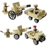 palaisgent 米軍砲兵旅団 7体セット アメリカ軍 車両 兵装 本格 フルセット 互換品 (Aセット)