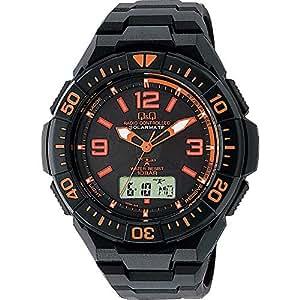 シチズン 腕時計 キューアンドキュー 電波ソーラー クロノグラフ 10気圧防水 MD06-315 メンズ