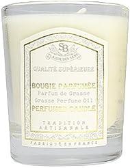 Senteur et Beaute(サンタールエボーテ) フレンチクラシックシリーズ グラスキャンドル 90g 「リリーガーデニア」 4994228022004