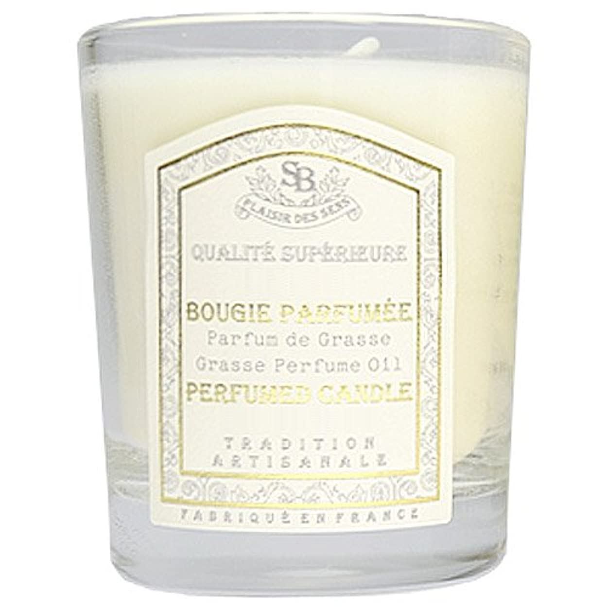 解決オーバーヘッド思慮のないSenteur et Beaute(サンタールエボーテ) フレンチクラシックシリーズ グラスキャンドル 90g 「ホワイトティー」 4994228021991