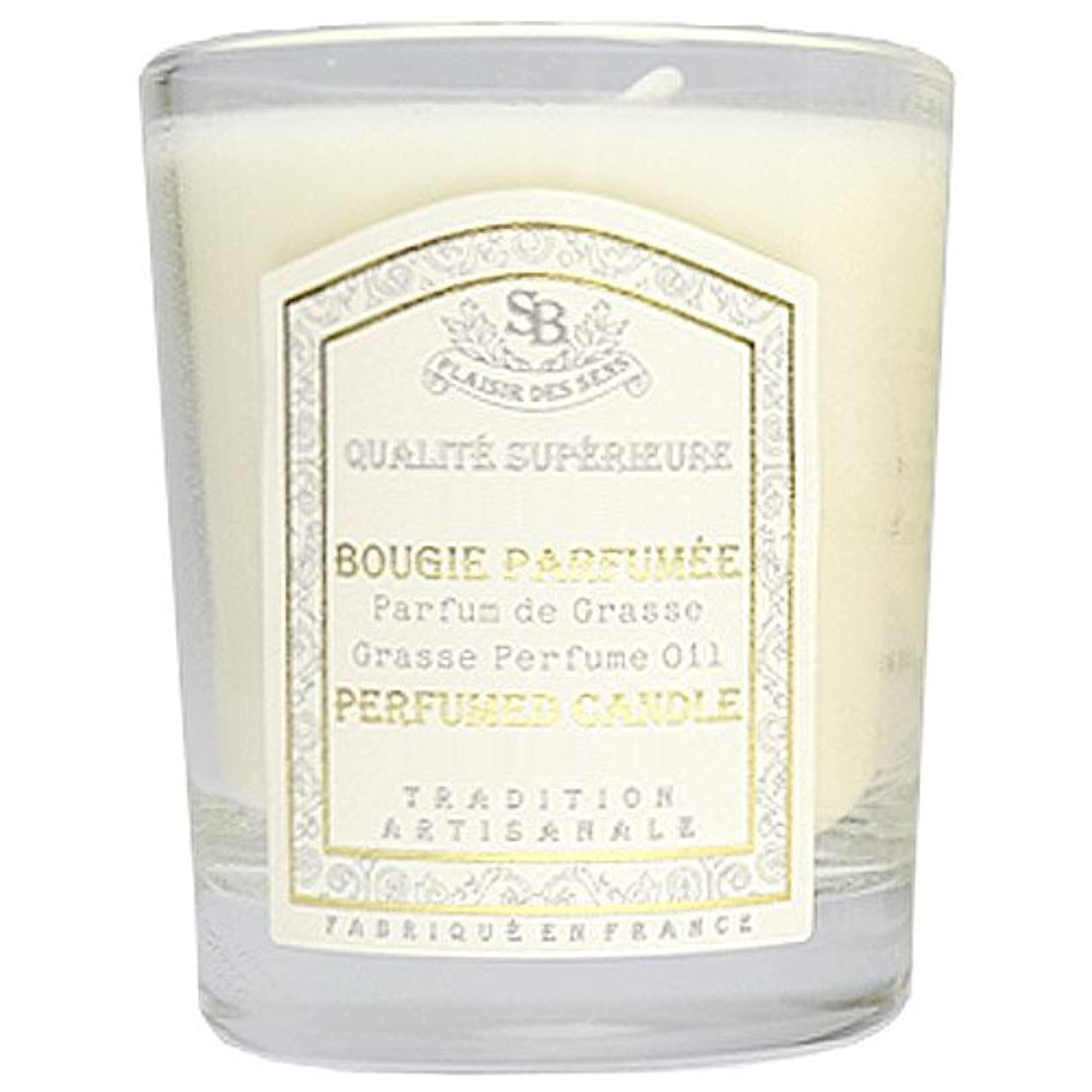 懲戒編集者素人Senteur et Beaute(サンタールエボーテ) フレンチクラシックシリーズ グラスキャンドル 90g 「ホワイトティー」 4994228021991