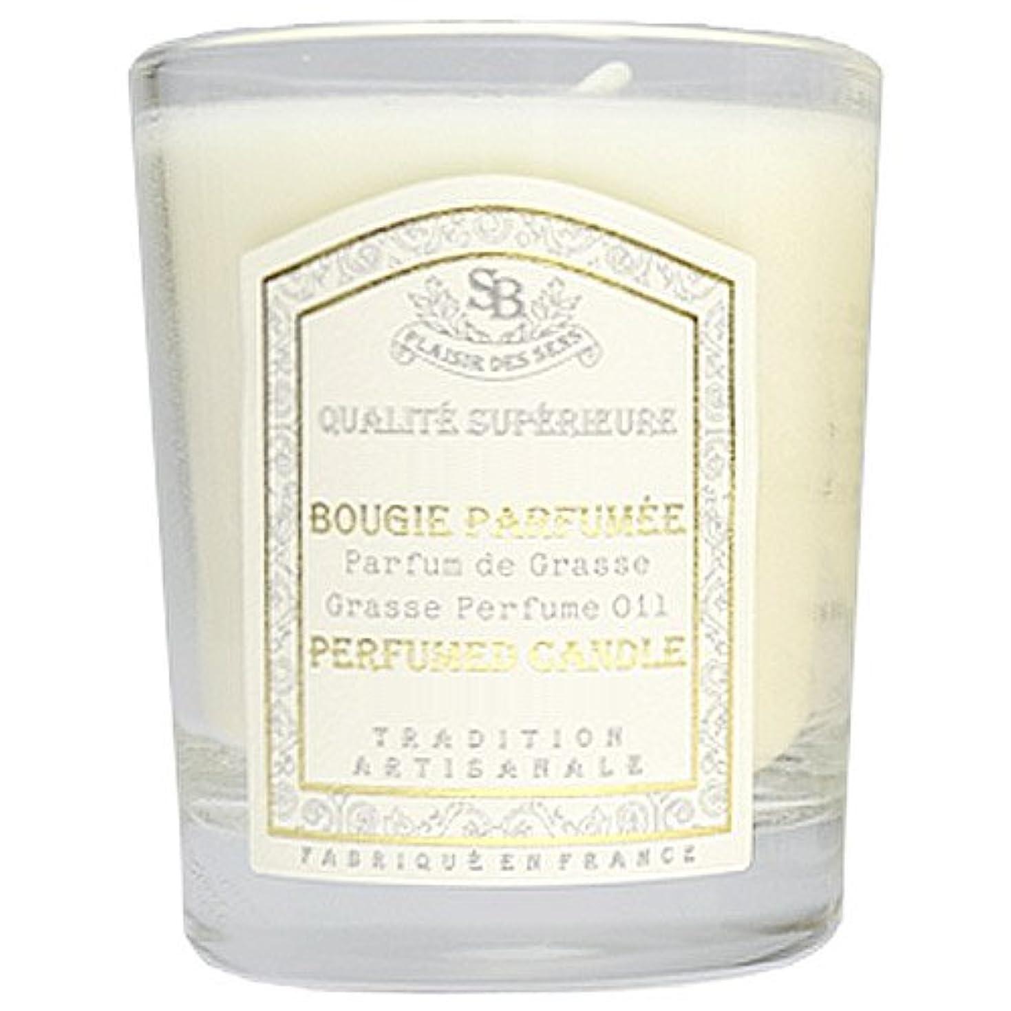 ヘッドレスペニーヒープSenteur et Beaute(サンタールエボーテ) フレンチクラシックシリーズ グラスキャンドル 90g 「ホワイトティー」 4994228021991