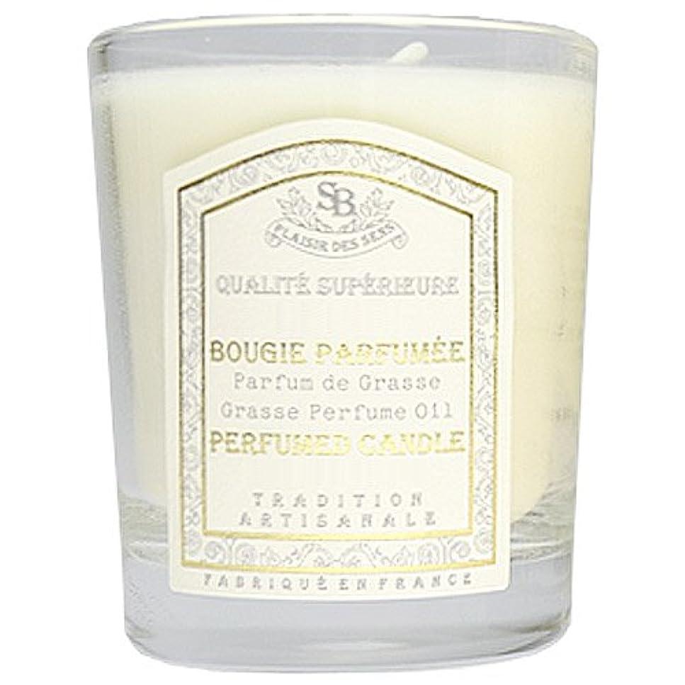 蒸気はがき畝間Senteur et Beaute(サンタールエボーテ) フレンチクラシックシリーズ グラスキャンドル 90g 「ホワイトティー」 4994228021991