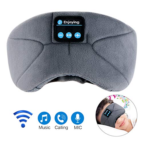 アイマスク安眠 Bluetooth5.0【強化版】スリープアイマスク 音楽アイマスク 遮光 3D立体 USB充電式アイマスク睡眠 圧迫感なし快眠 旅行 疲労回復 失眠対策 快眠グッズ 母の日 プレゼント ギフト