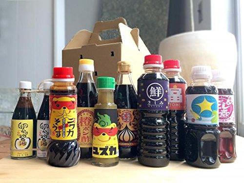 タケシゲ醤油 SoyBOX(9種入り)