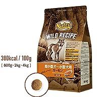 【ニュートロ】ワイルド レシピ 超小型犬~小型犬用 成犬用 サーモン4kg×4個セット