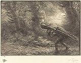 ファインアートプリント | Return to the Cottage (e retour a la chaumiere) | Alphonse Legros | 歴史的なヴィンテージ壁装飾ポスター複製 20in x 16in 4026540_2016_NGA2