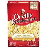 Orville Redenbacher's Light Butter Popcorn, Pop-Up Bowl Bag, 76.3g (Pack of 3)
