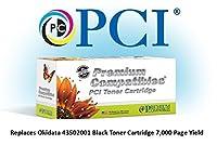 Premium Compatibles Inc. 43502001-PCI Replacement Ink and Toner Cartridge for Okidata Printers, Black [並行輸入品]