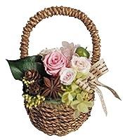 フラデコ 枯れないお花 プリザーブドフラワー「カノン」 (ピンク)