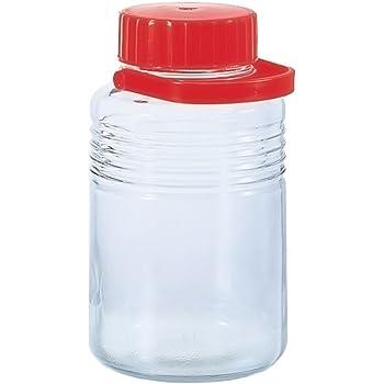 アデリア ガラス 保存びん 8L 梅酒・果実酒びん 10号 日本製 763
