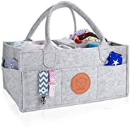 KeaBabies Baby Diaper Caddy Organizer - Large Baby Organizers And Storage For Nursery - Portable Diaper Basket