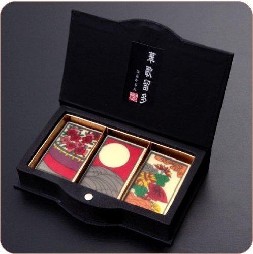 【最高級チョコレート使用】江戸文化の粋を味わうチョコレート『華歌留多(はなかるた)月見花見』