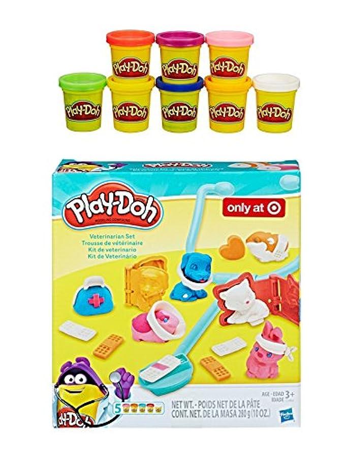 Play Doh Veterinarianセット+ Play Doh Rainbow Starter Pack