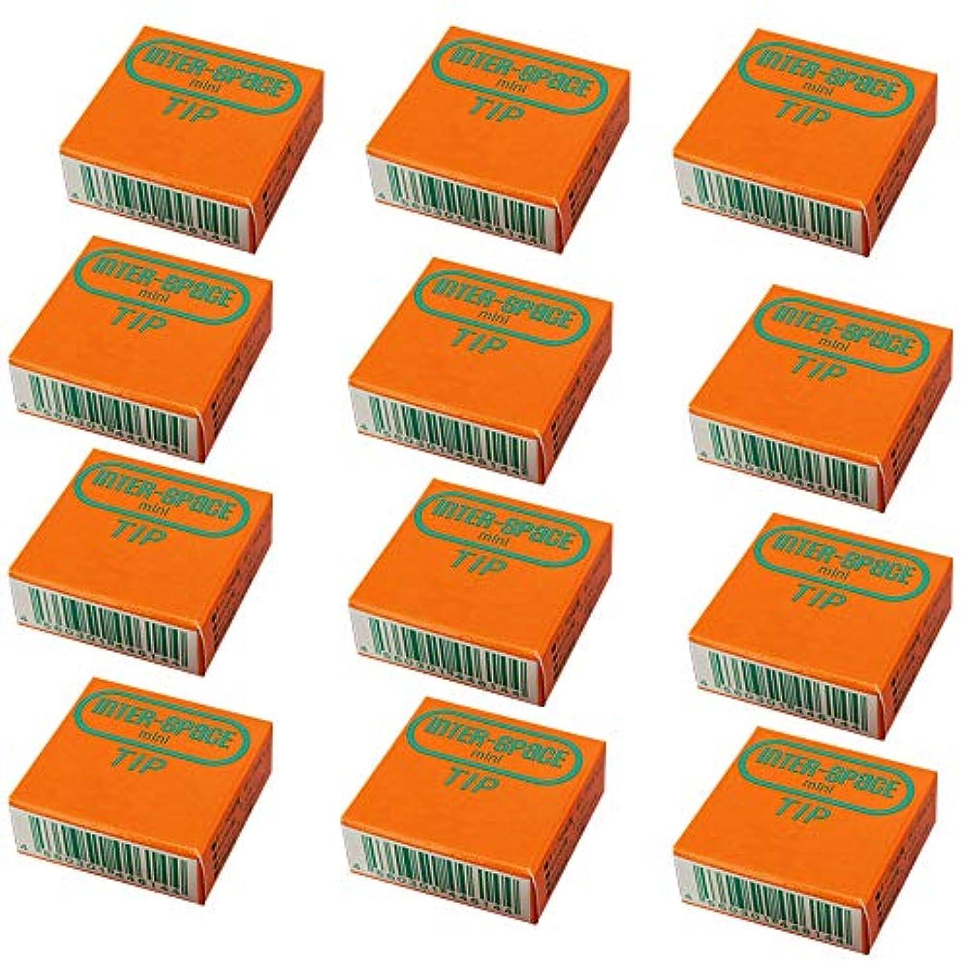 思い出させるミリメーターギャングスターインタースペース ? ミニ 専用 替え ブラシ 2個入 × 12箱 ミディアム M