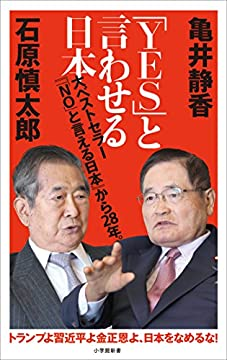 「YES」と言わせる日本(小学館新書)の書影