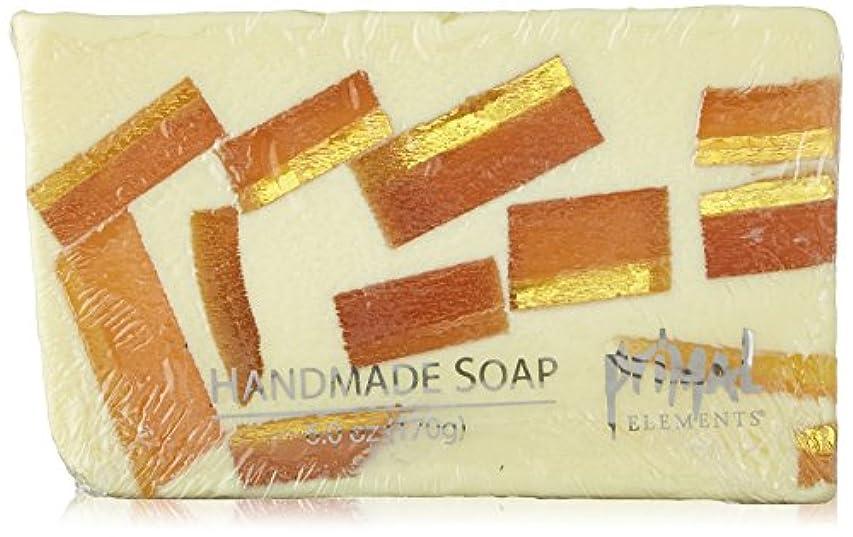 清める蓮パイPrimal Elements Wrapped Bar Soap, Tahitian Vanilla, 6.0-Ounce Cellophane by Primal Elements