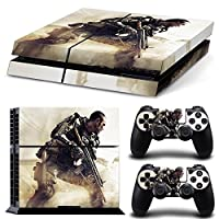 FriendlyTomato PS4専用 Skin プレイステーション4用スキンシール - Patriot Soldier Warrior Warfare - PlayStation 4 Vinyl