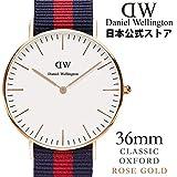 (公式) ダニエル ウェリントン 腕時計  [ローズ] オックスフォード/ローズ 36mm (Daniel Wellington 日本正規総輸入代理店) 071993 0501DW
