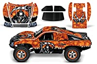 Designer Decal for Traxxas Slash 1/10 ( 58034) and Slayer 1/10 ( 59074) AMRRACING RC Kit - Reaper - Orange