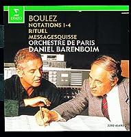 Boulez: Notations 1-4, Rituel, Messagesquisse