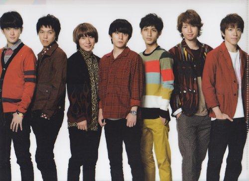 クリアファイル ★ 関ジャニ∞(集合) 2012 「KANJANI∞ LIVE TOUR!! 8EST〜みんなの想いはどうなんだい?」