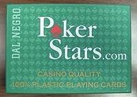 Poker Stars Playing Cards Setup 100% Plastic