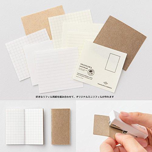 トラベラーズノート Traveler's notebook 10周年缶セット ミニサイズ本体付 黒 15195006