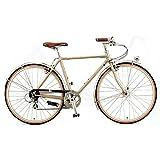 ARAYA(アラヤ) クロスバイク SWALLOW Promenade Gents(PRM) デザートカーキ 500mm