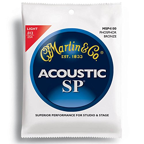 MARTIN MSP4100 92/8 Phosphor Bronze Light アコースティックギター弦×10SET