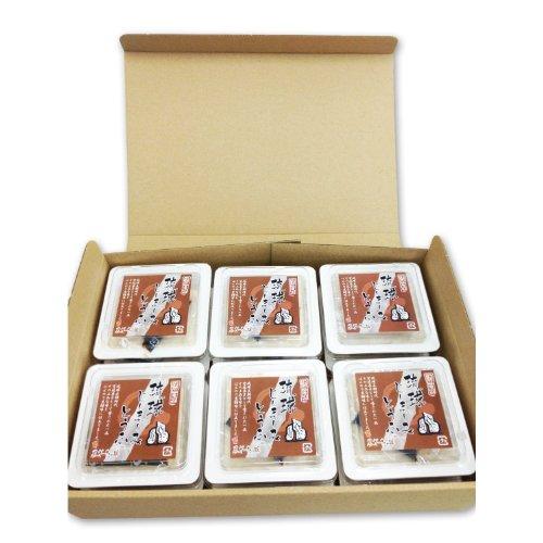 琉球じーまーみとうふ 黒糖 80g×6P ギフトボックス入り ハドムフードサービス プリンのような食感のもちもちピーナッツ豆腐 沖縄土産に