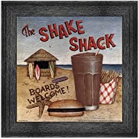 Shake Shack by David Carter Brown–10x 10インチ–アートプリントポスター LE_480531-F10588-10x10