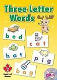 メイプル リーフ パブリッシング スリー レター ワード テキスト CD付き 【子ども 英語 教材】 Three Letter Words Student Book