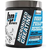 BPI Sports Micronized Creatine, 60 Servings, Unflavored, 0.3 Kilograms