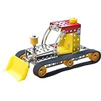 DIYモデル組み立ておもちゃ、yyzp、金属3dステレオエンジニアリング車両Assembledおもちゃ( 58035)