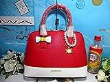 サマンサタバサ アンド シュエット サンリオ マイメロディ 40周年記念 限定 レディアゼル 2WAY バッグ 鞄 赤 マイメロ
