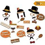 感謝祭写真ブース小道具パーティーSupplies Decorations 29パック