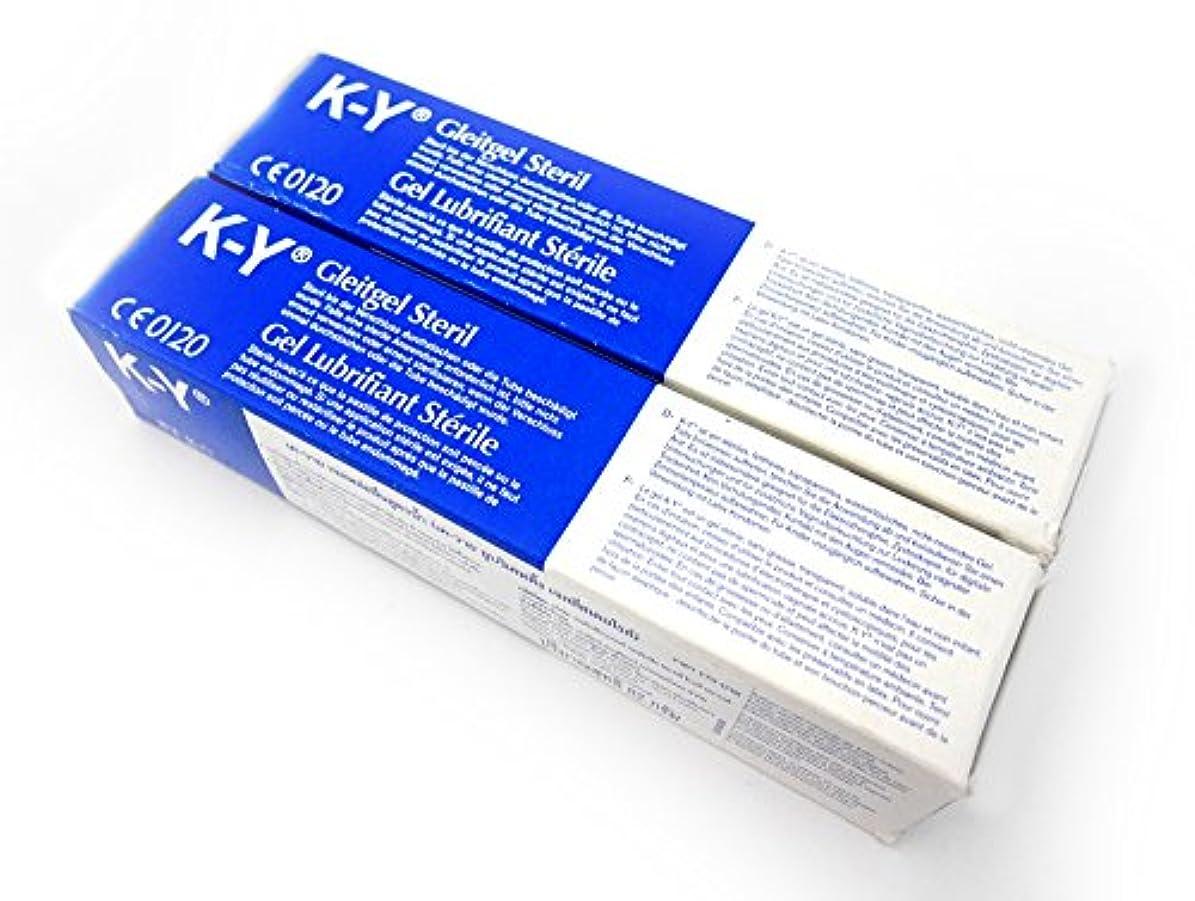 少ない不健康抑止するKYゼリー (82g x 2本)