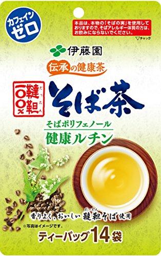 伝承の健康茶 韃靼100%そば茶 ティーバッグ 14袋