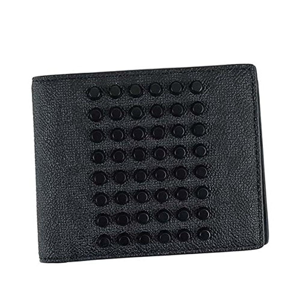 平和的速報シャーロットブロンテ(マイケルコース) MICHAEL KORS WALLET WITH COIN メンズ 二つ折り財布[並行輸入品]