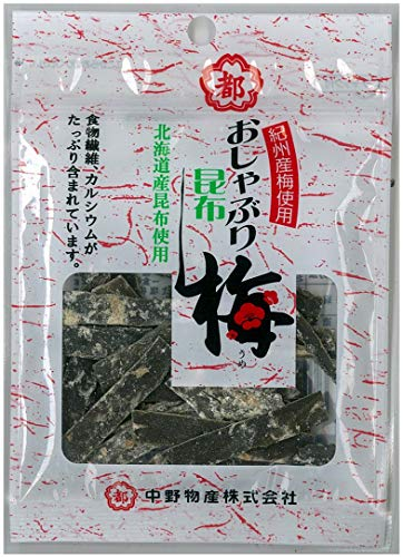 中野物産 11gおしゃぶり昆布梅 11g×10袋