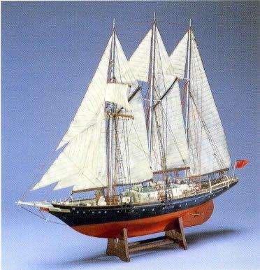 木製帆船模型 1/75 サー・ウィンストン・チャーチル