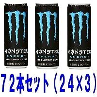 アサヒ モンスター アブソリュートリーゼロ 355ml缶 72本セット(24本×3ケース)