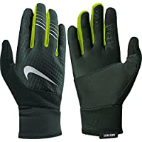 ナイキ アクセサリー 手袋 Nike Men's Therma-FIT Elite Run Gloves 2 VintageGre [並行輸入品]