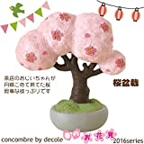 DECOLE マスコット concombre まったり桜まつり 桜盆栽