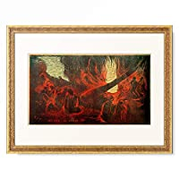 ポール・ゴーギャン Eugene Henri Paul Gauguin 「Mahana No Varua Ino」 額装アート作品