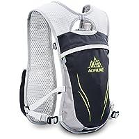AONIJIE ハイドレーションバッグ ランニングバッグ サイクリングバッグ 軽量 自転車バックパック リュック 6L