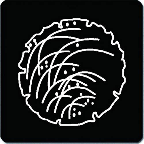家紋シール 雪に薄紋 24cm x 24cm KS24-2071W 白紋