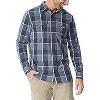 Wrangler Mens Big & Tall Long Sleeve Canvas Shirt Long Sleeve Button Down Shirt